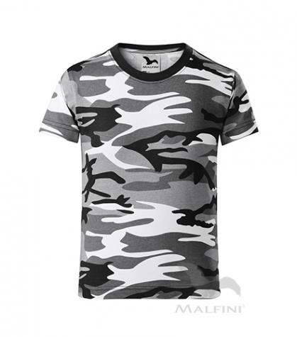 Camouflage T-shirt Kinder