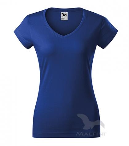 Fit V-neck T-shirt Damen